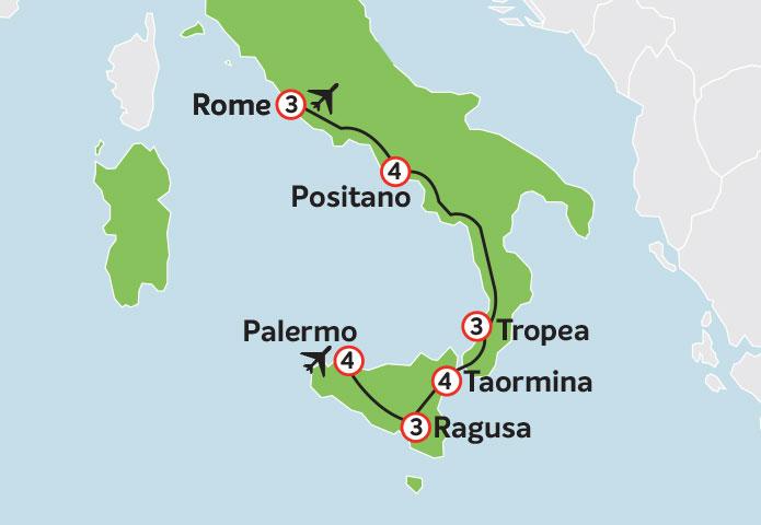 Sicily & Italy